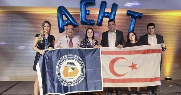 EMU Department of Gastronomy and Culinary Arts Wins Silver and Bronze Medals at an AEHT Competition
