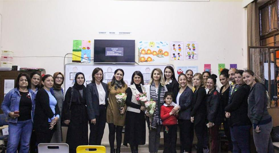 "A Talk by EMU Academic Staff on the ""Protection of Children's Rights"" Takes Place at Yeni Boğaziçi Elementary School"