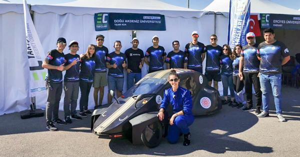 "Big Achievement of Team ""Ada"" Comprised of EMU Engineering Students"