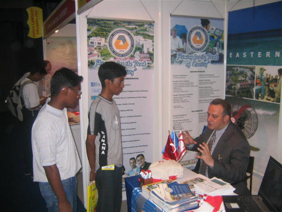 """""""Education Fair"""" - Bangalore, INDIA - 6 May 2006"""