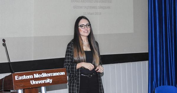 EMU Graduate Gizem Taştemel Dinçkan Talked About Her Career in EMU