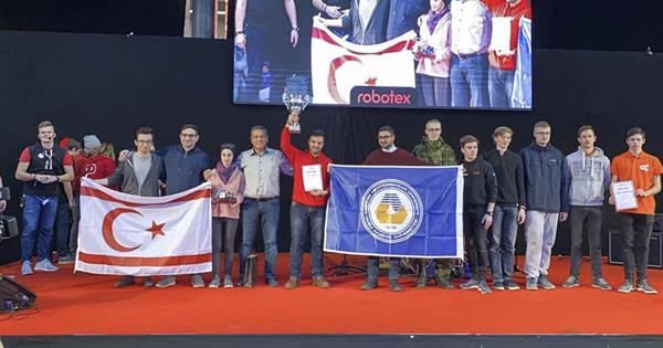 "EMU IEEE Robotics Team Wins The ""Robotex International"" Competition"