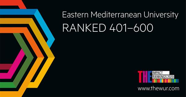 EMU is Amongst the Most Reputable Universities of the World in 2020